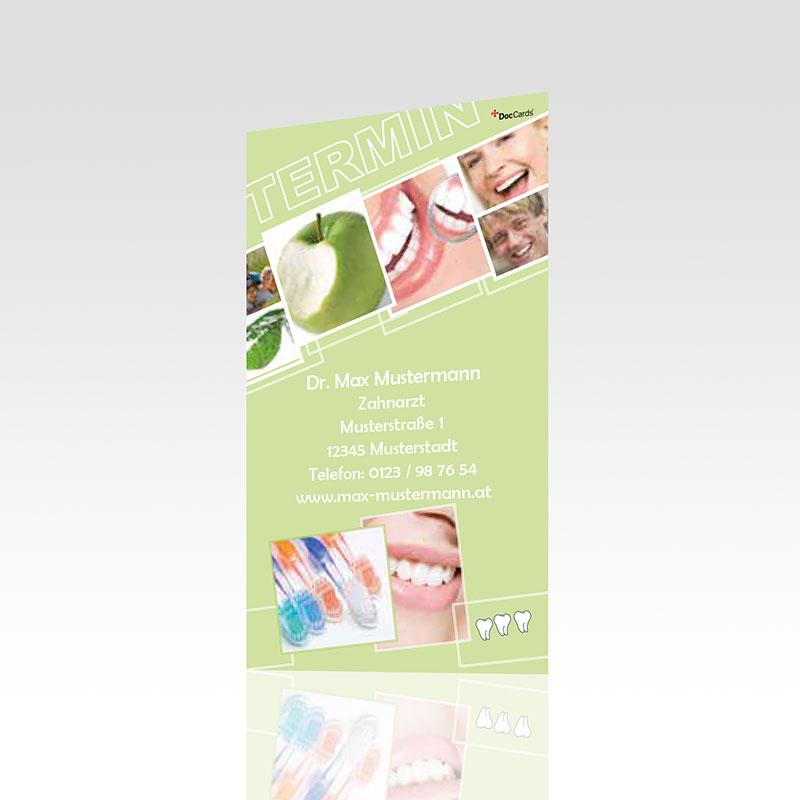 Terminkarten Motiv Karten Zahnarzt Terminzettel Zahnarztpraxis Arzt Arztpraxis Terminkärtchen